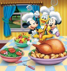 danald duck, pluto dog, mickey y minnie mouse Mickey Mouse Pictures, Mickey Mouse Cartoon, Mickey Mouse And Friends, Disney Pictures, Disney Mickey Mouse, Disney Pics, Disney Thanksgiving, Happy Thanksgiving Day, Disney Christmas