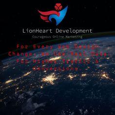 Design Development, Online Marketing, Lion, Content, Heart, Leo, Lions, Hearts