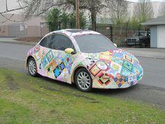 VW Beetle Quilt