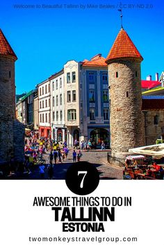 7 Awesome Things To Do in Tallinn, Estonia Tallinn is one of those capitals in Europe that is over looked quite often and a lot of tourists and backpackers skip this beautiful medieval city when they travel around Europe. Worry no more, from these awesome list of things to do in Tallinn, you'll certainly want to go visit.