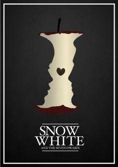 Snow White - Disney movie posters reimagined by Rowan Stocks-Moore - genius