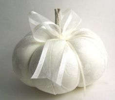 "This is a beautiful satin brocade pumpkin ring bearer pillow. Perfect for fall or Cinderella themed wedding. 6.5"" x 6.5"""