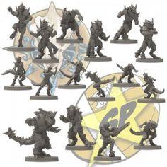 Full lizardmen team SP Miniatures