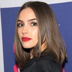 The Beauty Breakdown: Every Celebrity Lipstick Look We're Loving Right Now | People - Olivia Culpo in L'Oréal Paris Colour Riche Le Matte Lip Pen in Mad for Matte