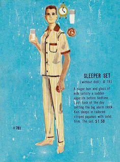 Ken sleeper set