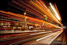 Blackpool Tram - Light Trails