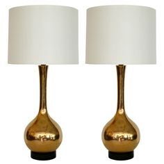gold crackled mercury glass table lamps