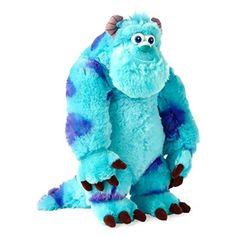 Monsters Inc 44038: Sulley Plush Disney Monsters Inc Polyester 15 Inch Stuffed Animals Character Toy -> BUY IT NOW ONLY: $32.52 on eBay!