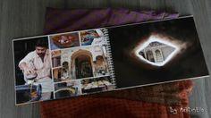 Album photo d'un voyage en Inde avec un montage 100% personnel mais la qualité d'un livre.