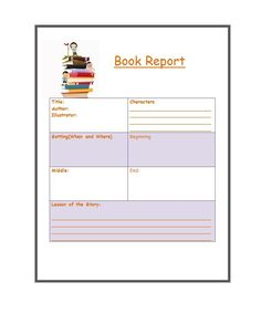 Book Report Template - Write the book you should write. The second region of the book is devoted to the practical implementation of the principles. It is supposed to increas. Kids Writing, Blog Writing, Writing A Book, Report Writing Format, Bingo Card Generator, Middle School Books, College Books, Book Report Templates, School Calendar