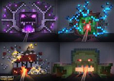 Concepts for various assets for MC Story Mode SE Episodes 1 and 2 Casa Medieval Minecraft, Minecraft Shops, Minecraft Building Guide, Minecraft Statues, Minecraft Farm, Minecraft Structures, Minecraft Mansion, Minecraft Plans, Minecraft Construction