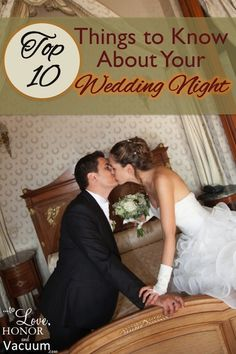 For all you new brides looking forward to sex, even for the first time, here are some great wedding night tips to help you relax--and have fun!