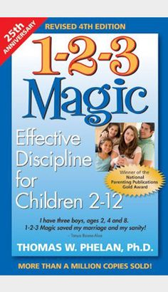 50 Best Parenting Books - 1-2-3 Magic...reading this right now, can't wait to start incorporating...