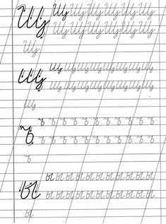 Cyrillic Alphabet, Cursive Handwriting Practice, Russian Lessons, Learn Russian, Handwritting, Russian Language, Pre School, Preschool Activities, Hand Lettering