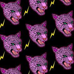 "robineisenberg: "" panther patterns """