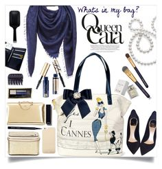 """""""Whats in my bag?"""" by ambacasa ❤ liked on Polyvore featuring Chloé, France Luxe, Diane Von Furstenberg, Louis Vuitton, Estée Lauder, Kate Spade, Mikimoto, Christian Dior, Bobbi Brown Cosmetics and Max Factor"""