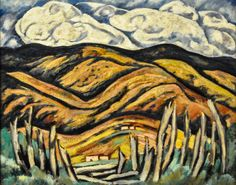 Marsden Hartley - The Last of New England - The Beginning of New Mexico, 1919