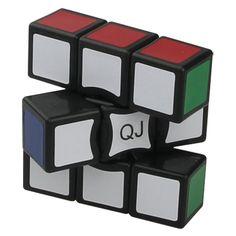 QJ 1x3x3 Floppy Cube Black_1x3x3 Floppy Cube_Cubezz.com: Professional Puzzle Store for Magic Cubes, Rubik's Cubes, Magic Cube Accessories & Other Puzzles