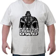 Darth Vader: World's Best Dad Tee Shirt