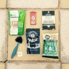 flowbox august 2015 mini vegan contents - lylia rose healthy eating food uk