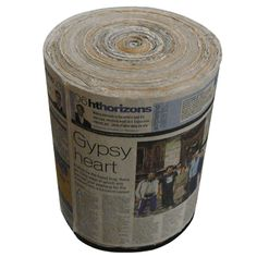 Add some style to your living room by including this unique and attractive stool made of recycled newspapers. This innovative newspaper stool is surely going to impress your guests.  Click and Gift now - http://shoptosurprise.com/details_son.php?id=2981&g=737064d73cd8f1c46ba9b7dad6be9c91