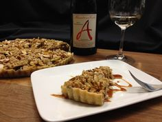 a recipe from Chukar Cherries and Chef Frank Magana for an apple cherry tart with cougar gold cheese