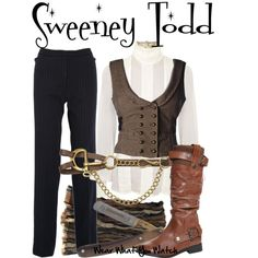 Sweeney Todd, created by wearwhatyouwatch on Polyvore