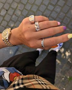 Silver Bracelet With Initial Cute Jewelry, Jewelry Box, Jewelery, Silver Jewelry, Jewelry Accessories, Fashion Accessories, Silver Rings, Fashion Jewelry, Diamond Are A Girls Best Friend
