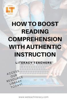 Do you want to help students apply the reading in class to their lives outside of school? You can connect school with students' lives and improve their reading comprehension by designing authentic ins Student Reading, Teaching Reading, Teaching Tools, Teacher Resources, Reading Activities, Instructional Strategies, Instructional Technology, Problem Based Learning, Reading Comprehension Strategies
