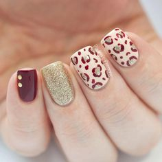 40 Leopard Print Nail Art Ideas !!!!#Nails#Musely#Tip