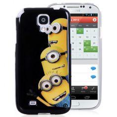 Minions Cartoon TPU Back Cover for Samsung Galaxy S4 http://www.handbagloverusa.com