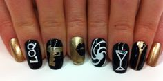 How-to: Bond girl nail art (inspired by Skyfall!): http://beautyeditor.ca/2012/11/30/how-to-bond-girl-nail-art-inspired-by-skyfall/