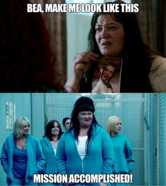 Watch out lads! Boomer is on the prowl. #WentworthTVshow #Wentworth