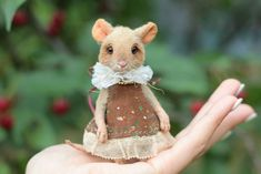 Daughter Mouse by Lesya Gogol