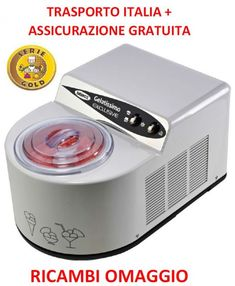GELATISSIMO EXCLUSIVE GOLD Nemox FULL OPTIONAL cestello INOX