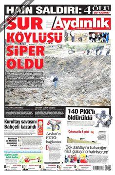 Gazeteler, Gazete Manşetleri, Akşam Gazetesi