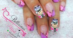 Decoración de uñas paso a paso cebra Bellisimas Nails por Maryury Jaramillo | Alexey.es