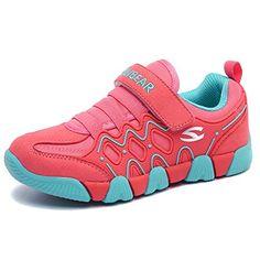 great Hoxekle Winter Boys Girls Plus Velvet Tennis Shoes Velcro Anti-slip  Rubber Kids Warm Casual Sport Sneaker f67c89630