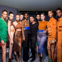 In an opening note from Olivier Rousteing, the creative director of Balmain explained his design inspiration for his Spring/Summer 2016 collection, showcased in Paris,