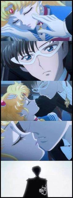 SMC Sailor Moon and Tuxedo Kamen