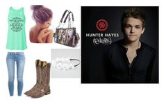 """Untitled #19"" by showlifejaime ❤ liked on Polyvore featuring Frame Denim, Tony Lama, Montana West and Full Tilt"
