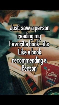 recommending a person...