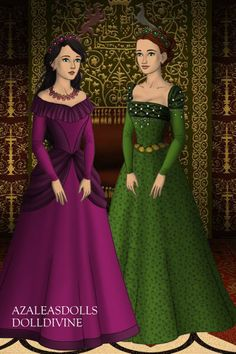 Silena and Katie. made by Morgan D Jackson