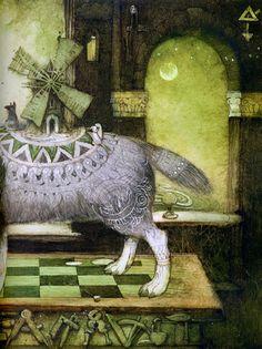 Кирилл Челушкин «Алиса и городской волчок»