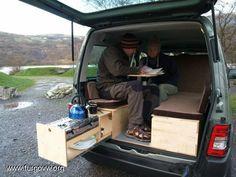 25 Wonderful Small RV And Camper Van Interiors Design Ideas Truck Camper, Mini Camper, Truck Bed, Camper Van, Camper Beds, Minivan Camping, Stealth Camping, Peugeot Partner Camper, Small Rv Campers