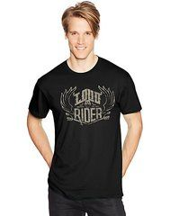 Hanes Men's LOUD RIDER Graphic Tee (in Sizes Small - 3XL)