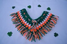 Collarette  scarflette sT PAtricks day patriotic by JaminaRose, £8.50