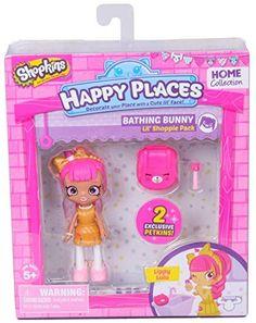 Shopkins Happy Places Bathing Bunny Doll with Petkin - Lippy Lulu - Moose Toys… Shopkins Happy Places, Shopkins And Shoppies, Shoppies Dolls, New Shopkins, Moose Toys, Birthday List, Birthday Wishlist, 4th Birthday, Kawaii
