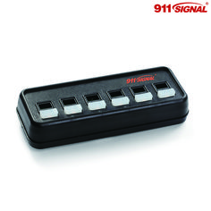 R990 Switch from 911 Signal. This 6 button switch box can be used to control your lights and sirens.