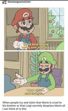 I think my heart cracked a little bit. Nintendo Game, Nintendo Super Smash Bros, Nintendo Characters, Super Smash Bros Memes, Mario Funny, Mario Memes, Mario Kart, Mario Bros, Mario Comics